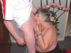 Bbw facials grandma libby from united kingdom